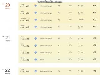 Коротко о погоде в СПб