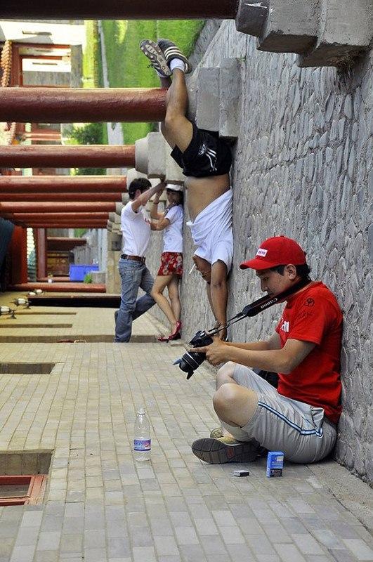 Главное в профессиональной фотографии - это правильно выбранный ракурс