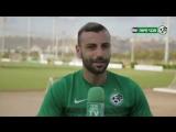 Полузащитник , ФК «Маккаби» Хайфа Шломи Азулай . Дал интервью официальному сайту клуба .