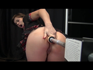 Anal squirt fuck machine in sweet little french asshole | vicalouqua
