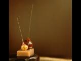Кулинарный лайфхак. Самый простой способ делать изомальтовые капли с маслом внутри.