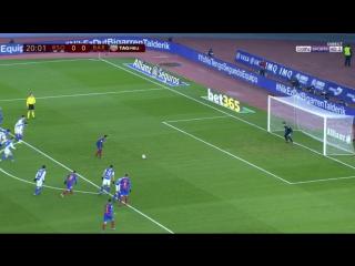 Реал Сосьедад 0:1 Барселона. Гол Неймара