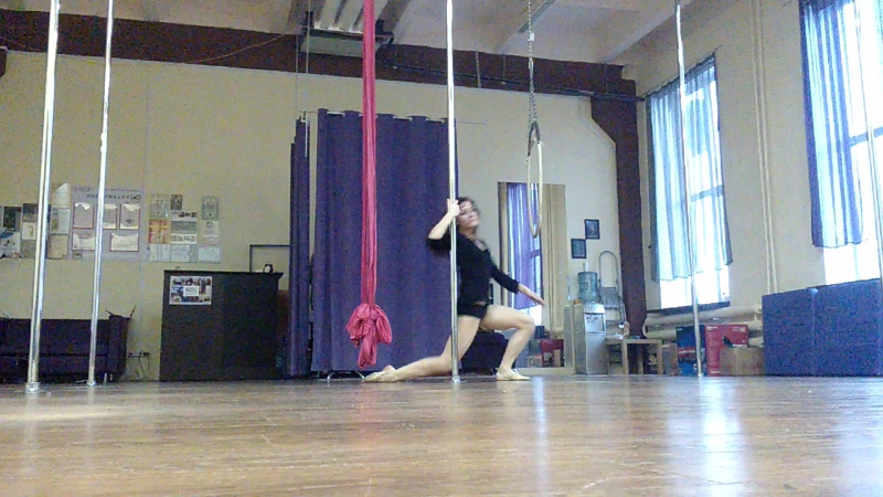 Pole art в maryli poledance