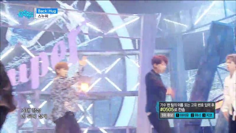 Snuper - Back׃Hug @ Music Core 170429