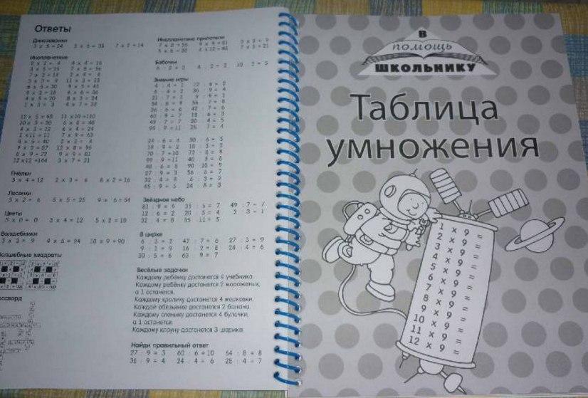 необычная книга для девочки и мальчика подготовка к школе по математике сложение вычитание деление умножение