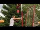 Тренажёр для отработки нападающего удара в волейболе