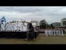 День ВМФ-2017 Андреевский флаг