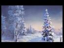 Simple Acrylic Christmas Tree Painting