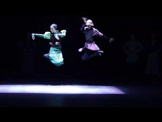 Сухишвили - танец Тамаши (в Польше,Zielona Góra 07.02.2018)
