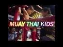 Muay Thai cute Kids