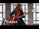 Annie Clements Demos The '60s Jazz Bass® American Original Series Fender