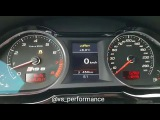 Acceleration Audi RS6 C6 stock