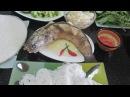 Змееголов - Как приготовить спринг роллы из рыбы Змееголов Вьетнамские блюда Cá lóc cuốn