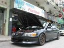 Honda Accord Euro R CL1 with Hondata S300 Dynostand