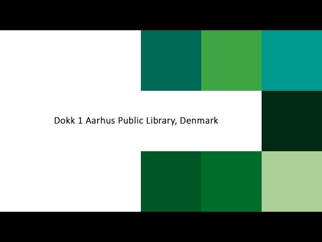 Dokk 1 Aarhus Public Library, Denmark