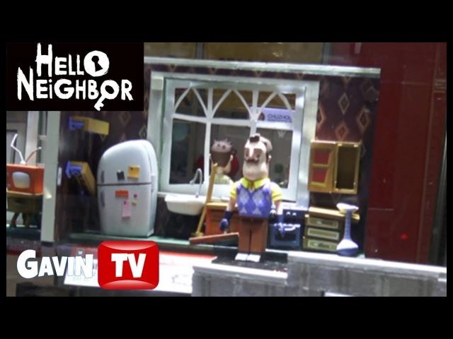 Toy Fair 2018 Mcfarlane Booth | FNAF Hello Nieghbor Brick Builds