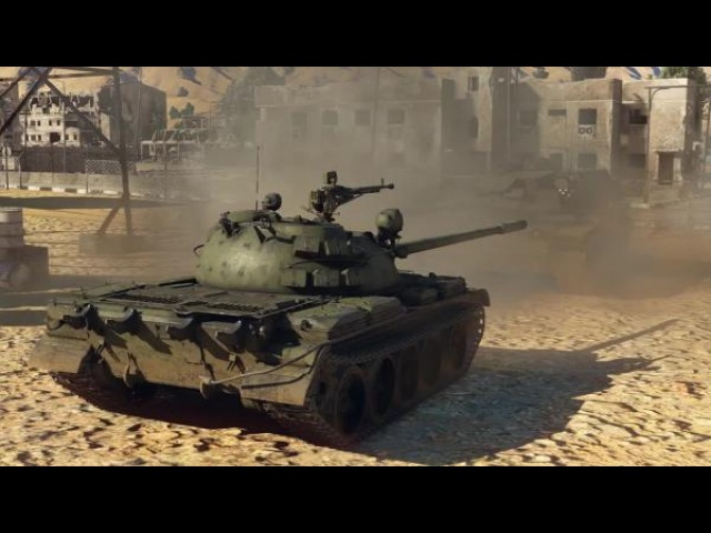 War Thunder. Т-55А против M60A1 RISE