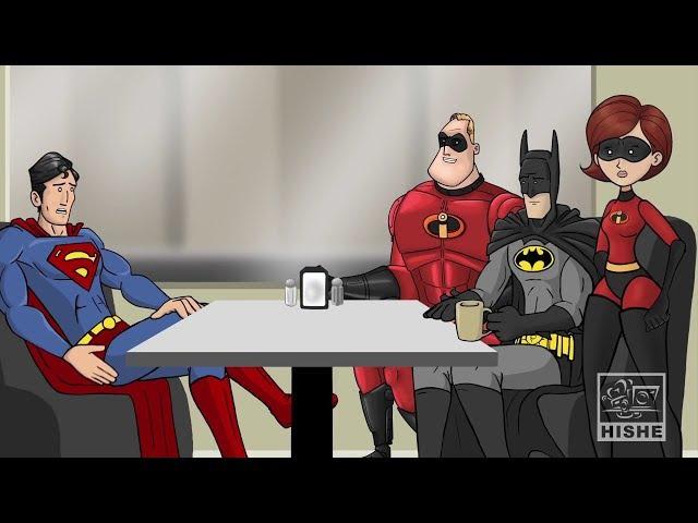 Как следовало закончить фильм Суперсемейка (Русская озвучка Nickelson)