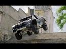 Безбашенная езда по городу на грузовике 850 лошадок - BJ Baldwin