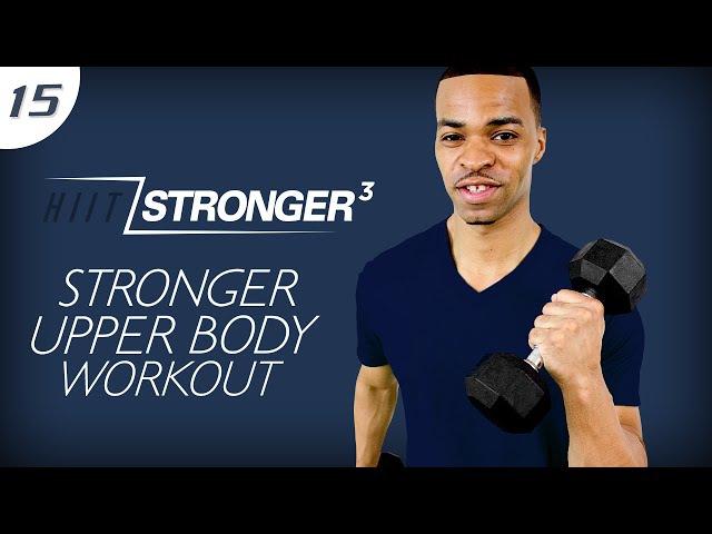 45 Min. STRONGER: Total Arm Destruction Workout | HIIT/STRONGER 03: Day 15