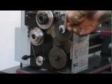 Подготовка токарного станка D180x300 Vario к работе