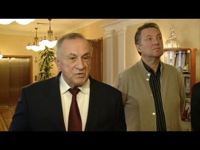 15 11 2016 Генподрядчик объекта «Камский мост» вновь встретился с Главой Удмуртии