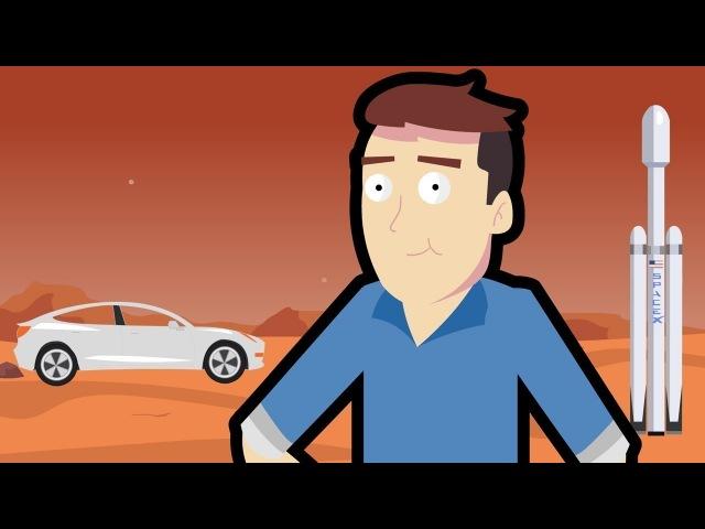 История Илона Маска за 3 Минуты