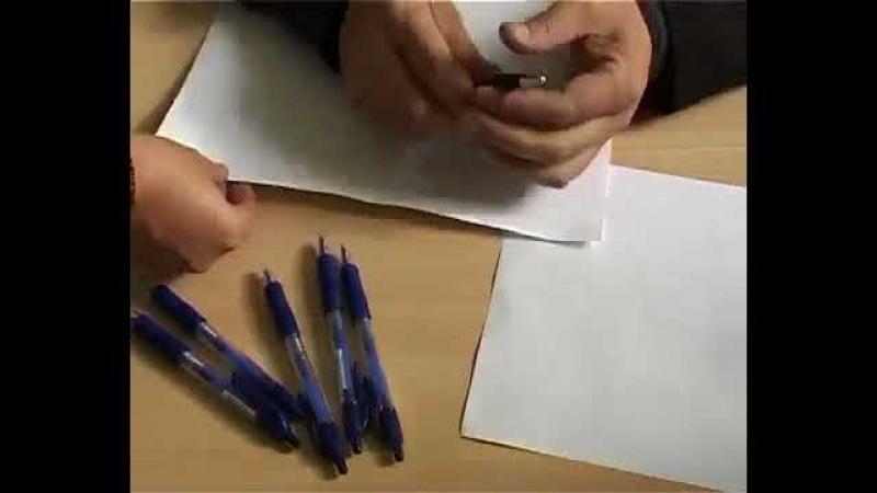 Исчезающие ручки в кабинках на выборах!
