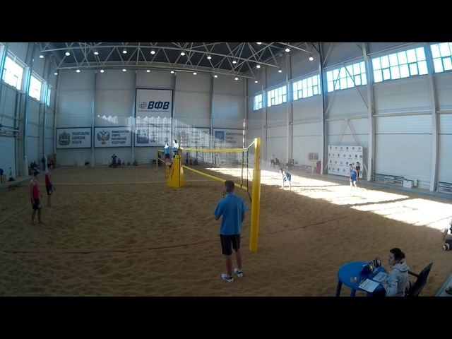 Beach volley Cup U20 Russia 2018 M03 Shekunov-Veretyuk and Miszczuk-Poznanski