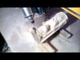 Фрезерование статуэтки из дерева на фрезерном ЧПУ станке ЧПУ http://777russia.ru 89896226777
