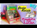 Tutorial: PortaRiviste | Riciclo Creativo | DIY Magazine Older | Collab. Kreattiva