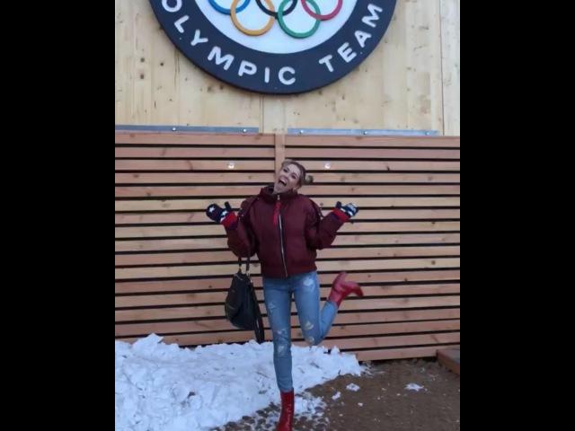 "Rachel Platten on Instagram: ""I'm so athletic TeamUSA"""