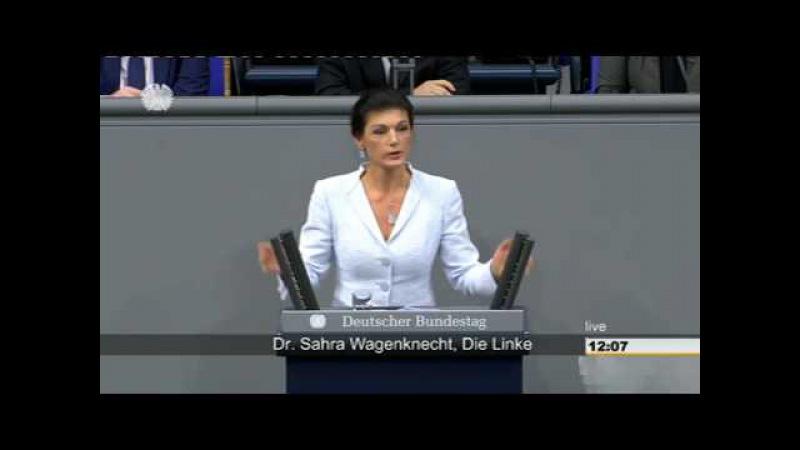 Sahra Wagenknecht Für ein soziales Europa, das der jungen Generation wieder eine Zukunft gibt!