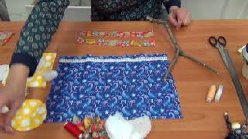 Мастер-класс изготовление куклы Масленица часть 1