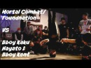 Final. Foundnation/ Mortal Combat vs Heroes Bboy Kaku, Hayato 1 and Kent