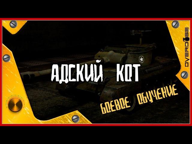 M18 HellCAT Адский кот боевое обучение WoT World of Tanks