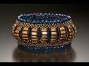 красивые браслеты из бисера и камней в разных стилях