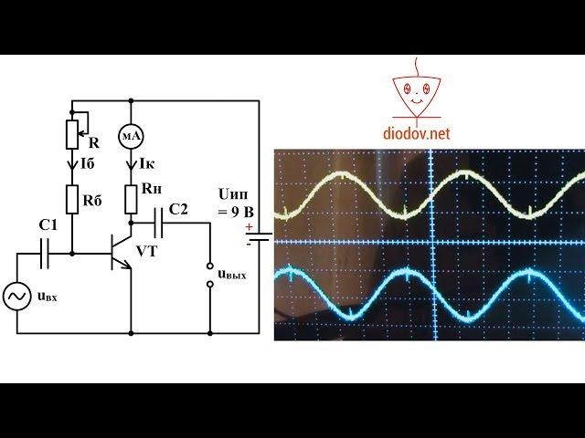 Транзисторный усилитель | Как транзистор усиливает сигнал