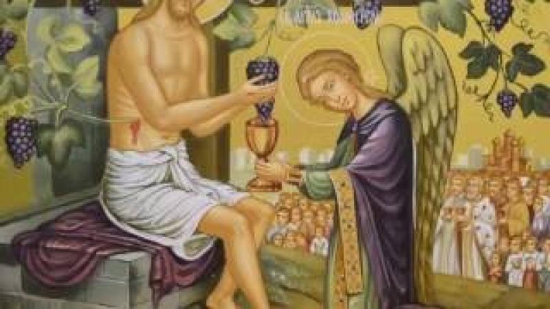 Икона Иисус Христос Истинная Лоза