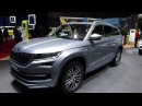 2019 Skoda Kodiaq Laurin Klement 2 0 TDI 4x4 Exterior and Interior Geneva Motor Show 2018