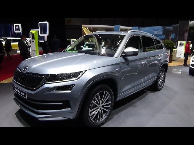 2019 Skoda Kodiaq Laurin Klement 2.0 TDI 4x4 - Exterior and Interior - Geneva Motor Show 2018