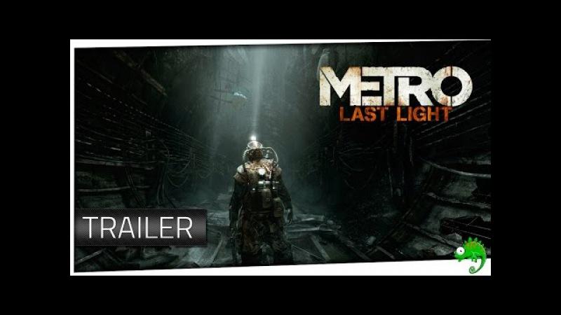 Метро 2033 Last Light Официальный Трейлер HD