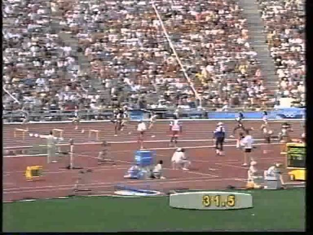 Women's 400m Hurdles Final at the Barcelona 1992 Olympics