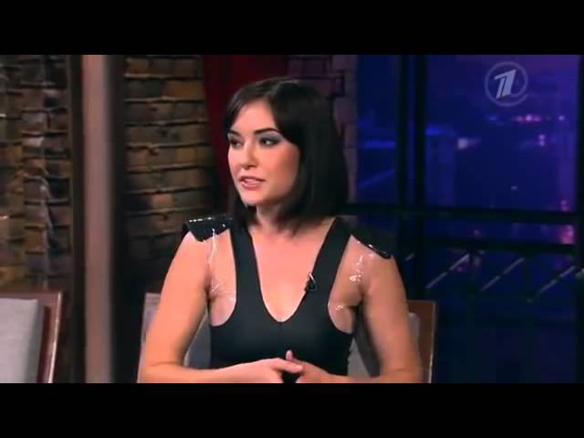 Саша Грей в гостях Вечернего Урганта Urgant Show прикольное видео