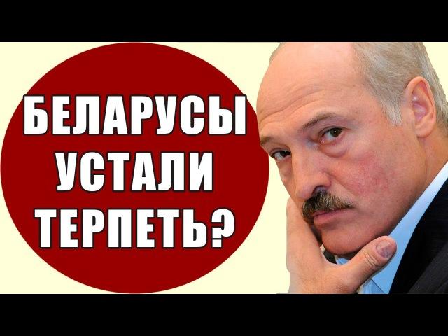 БЕЛАРУСЫ УСТАЛИ ТЕРПЕТЬ| Почему беларусы препятствуют строительству новых зав ...