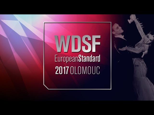 Zharkov - Kulikova, RUS   2017 EU Standard Olomouc   R1 SF   DanceSport Total