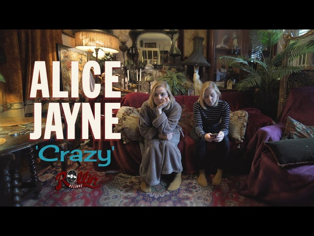 'Crazy' Alice Jayne ROLLIN RECORDS (music video) BOPFLIX