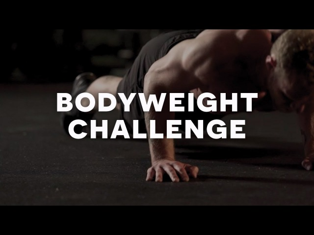 Full Bodyweight Workout Challenge with Zach Filer