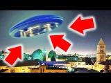 НЛО в Иерусалиме, летающая тарелка - реальная съемка 2018 HD (UFO)