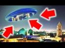 НЛО в Иерусалиме, летающая тарелка - реальная съемка 2018 HD UFO